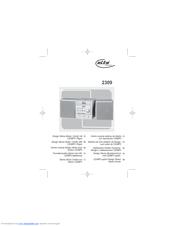 Elta 2309 Specification Sheet