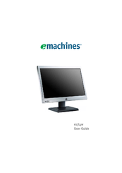 emachines e17t4w manuals rh manualslib com emachines generic user guide emachines system user guide em350