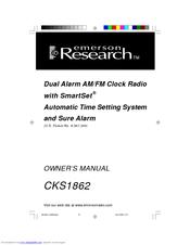 emerson research cks1862 manuals rh manualslib com Emerson Research Smart Set Emerson Research Smart Set