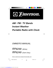 Emerson RP6248 Owner's Manual