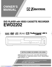emerson ewd2202 manuals rh manualslib com Emerson DVD VHS Player Emerson DVD Player Dual