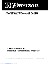 Emerson Mw9113ss Owner S Manual