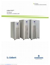 Emerson Liebert NX 40 kVA Manuals