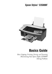 Epson Stylus CX5800F Printer Descargar Controlador