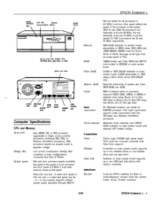Epson Computer Hardware User Manual