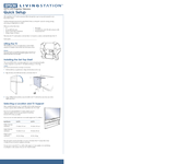 Epson Livingstation LS47P1 Quick Setup Manual