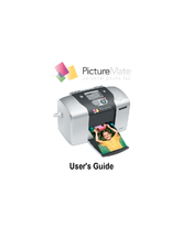 Epson PictureMate - Compact Photo Printer User Manual