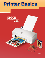 Epson C200001 - Stylus Color 660 Inkjet Printer Printer Basics Manual