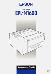epson epl n1600 option duplex unit service repair manual
