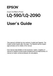 EPSON LQ-2080 GRATUIT GRATUIT TÉLÉCHARGER