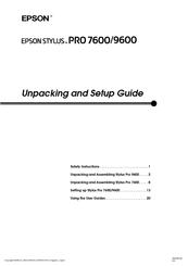 epson stylus pro 7600 photographic dye ink manuals rh manualslib com 9600 Parts Washer Build 9600
