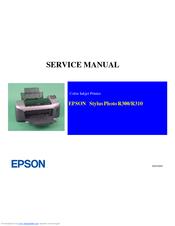 epson stylus photo r310 service manual pdf download rh manualslib com Epson 1280 Driver Epson Stylus Printers