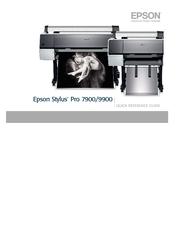 Epson Stylus C12C890191 Quick Reference Manual