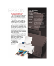 Epson C200001 - Stylus Color 660 Inkjet Printer Specification Sheet