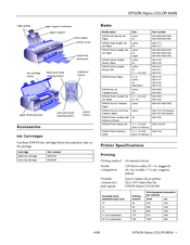 Epson 850N Specification Sheet