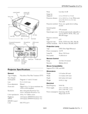Epson PowerLite 71c User Manual