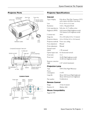 epson v11h177020 powerlite 76c lcd projector manuals rh manualslib com Epson PowerLite X12 Epson PowerLite 1761W