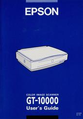 Epson GT-10000 Scanner TWAIN Driver