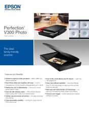 epson perfection v300 photo manuals rh manualslib com Epson Perfection 3200 Scanner Epson Perfection V500 Photo Scanner