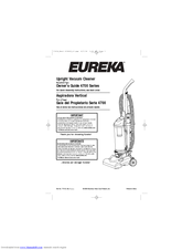 eureka maxima 4711bz manuals rh manualslib com eureka maxima instruction manual eureka vacuum user manual