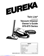 eureka 970 975 series owner s manual pdf download rh manualslib com eureka vacuum manual 3720 eureka vacuum manual as3001