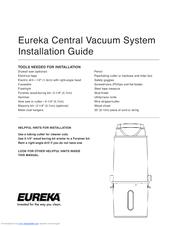 eureka central vacuum cleaner manuals rh manualslib com Eureka Bagless Vacuum Manual Eureka Bagless Vacuum Cleaners