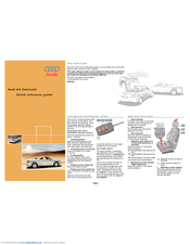 audi a4 manuals rh manualslib com Audi R8 Audi A7