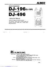 Alinco DJ-196 Instruction Manual