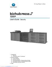 Konica Minolta bizhub PRESS 1250/1250P User Manual
