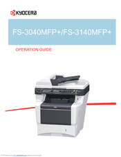 Kyocera ECOSYS FS-3140MFP+ MFP KX Drivers for PC
