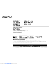 Kenwood DC-MP255U Instruction Manual
