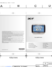 Acer p600 Series Quick Manual