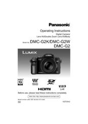 panasonic lumix dmc g2 manuals rh manualslib com Lumix DMC G3 Review Panasonic Lumix G Review