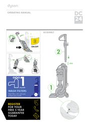 dyson dc24 blueprint limited edition manuals rh manualslib com dyson ball dc24 manual dyson ball dc24 manual