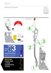 dyson dc33 manuals rh manualslib com Dyson DC33 Duct Assembly dyson dc33 user guide