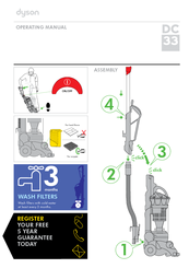 dyson dc33 manuals rh manualslib com dyson dc33 user manual dyson dc33 service manual