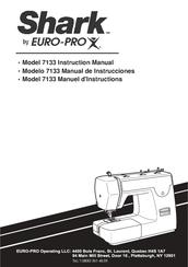 shark euro pro 7133 manuals rh manualslib com shark euro pro sewing machine manual 384 shark euro-pro sewing machine manual