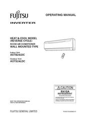 fujitsu asta24lfc manuals rh manualslib com fujitsu user manuals for model asu12rls fujitsu owners manual