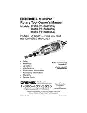 dremel multipro 395t6 owner s manual pdf download rh manualslib com Dremel Accessories Dremel 4000 Rotary Tool
