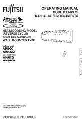 fujitsu halcyon asu12cq operating manual pdf download rh manualslib com
