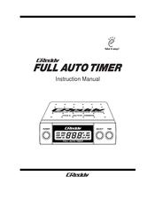 Greddy Full Auto Timer Instruction Manual Pdf Download Manualslib