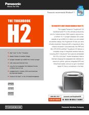 panasonic toughbook h2 manuals Panasonic Toughbook CF H2 Diagram Panasonic Toughbook CF-H2 Drivers