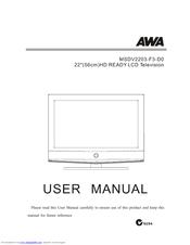Awa tv user manual daily instruction manual guides awa msdv2203 f3 d0 manuals rh manualslib com awa tv instruction manual instruction manual fandeluxe Images