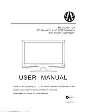 awa msdv2611 o3 user manual pdf download rh manualslib com Best 32 LCD TV Sony 32 LCD TV