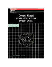 honda ew140 manuals rh manualslib com honda em5000sx owners manual