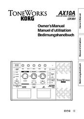 korg toneworks ax10a manuals rh manualslib com korg ax1500g manual español pdf korg ax1500g manual pdf