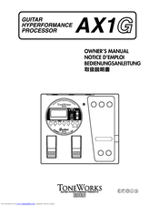 korg toneworks ax1g manuals rh manualslib com Korg Effects Pedal Korg Pitchblack