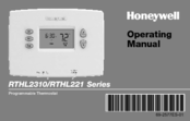 Honeywell RTHL2310B Operating Manual