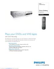 philips dvp3340v manuals rh manualslib com DVD VCR Players Walmart Toshiba TV VCR DVD Combo