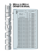 Mackie SR24•4 Owner's Manual